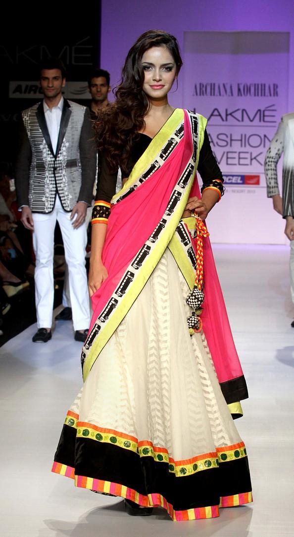 Індійський тиждень моди Lakme Fashion Week. Фото: STRDEL/AFP/Getty Images