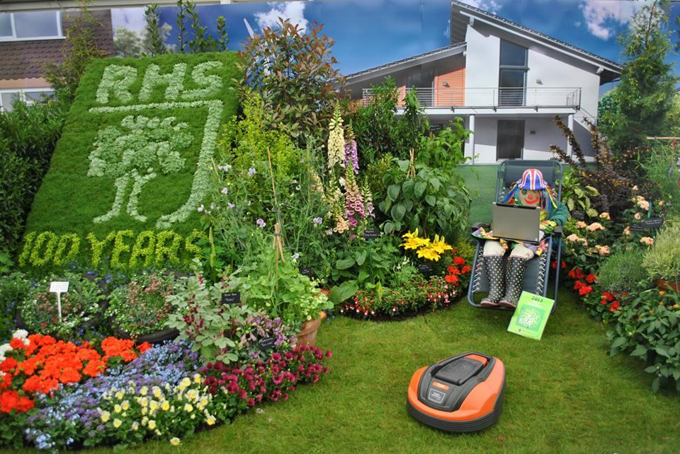 Сад компании «Miracle-Gro» на выставке цветов в Челси. Фото: rhschelsea/facebook.com