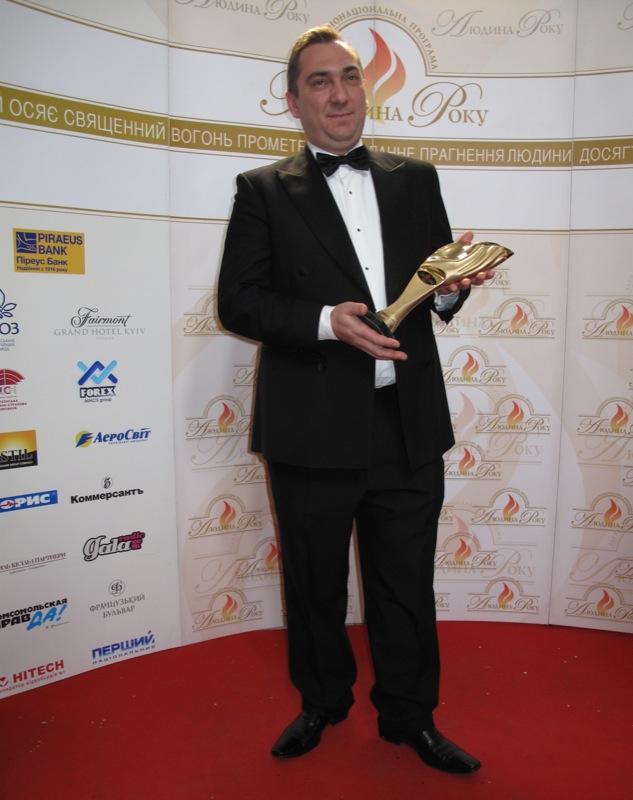 «Фінансист року» — Краснов Грег — генеральний директор ПАТ «Платінум Банк». Фото: Оксана Позднякова/The Epoch Times Україна