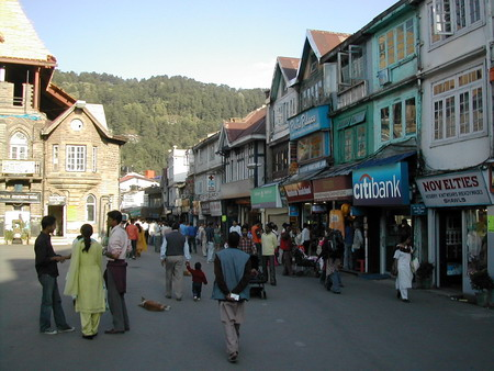 Город Шимла - летняя столица британской колониальной Индии. Фото: Семена Павлюка