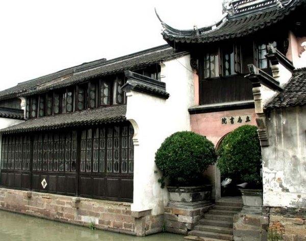 Древний посёлок Учжэнь. Фото с daotoo.com