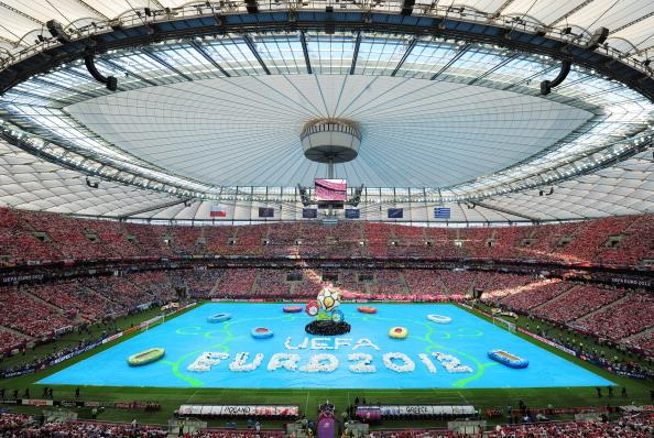Открытие Евро-2012на Национальном стадионе в Варшаве 8июня 2012года. Фото: Shaun Botterill/Getty Images