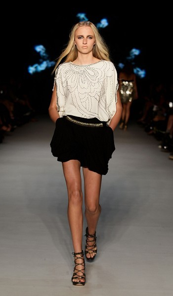 Колекція від Hussy на австралійському Тижні моди весна-літо 2010/11. Фото: Getty Images