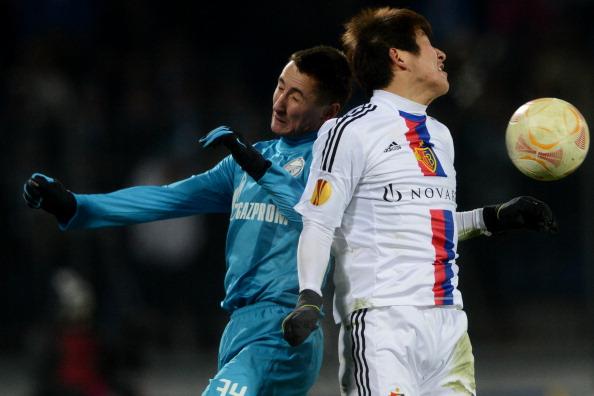 Зеніт (Росія) — Базель (Швейцарія). Фото: Getty Images Sport