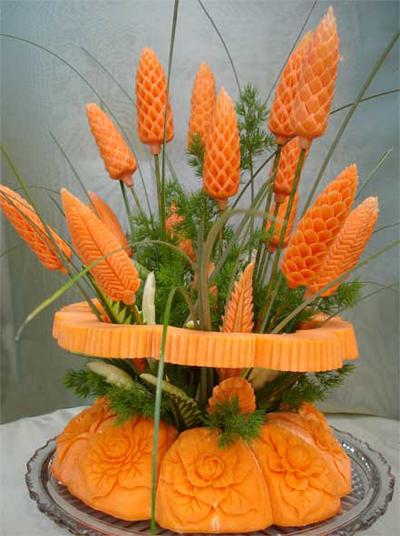 «Шишка из моркови»