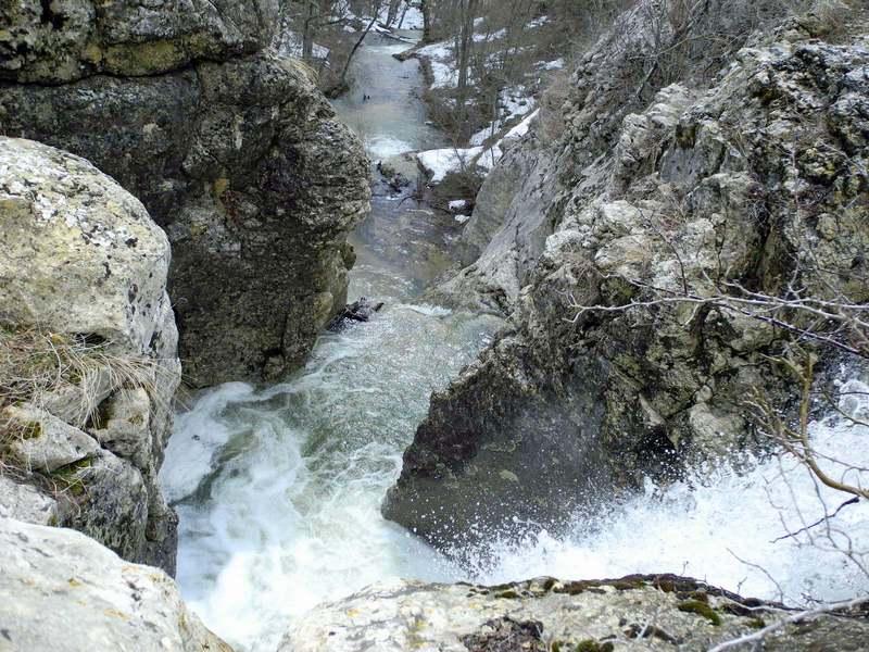 Средний каскад водопада. Фото: Алла Лавриненко/The Epoch Times Украина