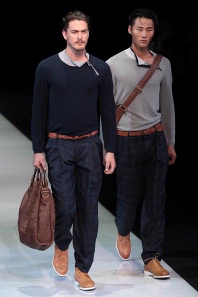 Модний одяг від Giorgio Armani на Milan Fashion Week, 26 червня 2012 року. Фото: Vittorio Zunino Celotto/Getty Images