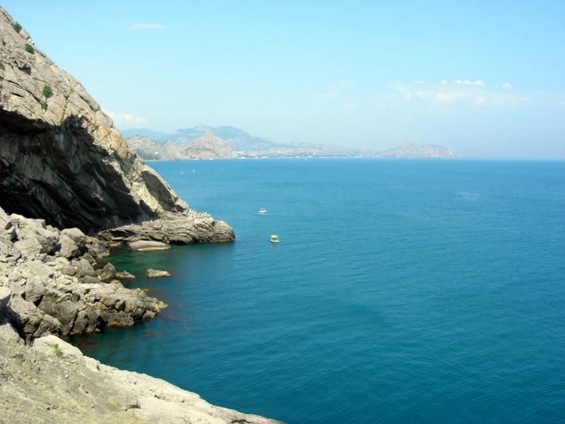 Новий світ, Крим, вид на стежку Голіцина з боку грота. Фото: Алла Лавриненко/Велика Епоха