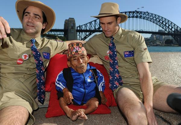 Самый маленький человек в мире. Фото: GREG WOOD/AFP/GettyImages