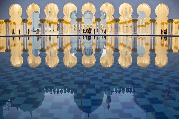 Мечеть шейха Зайда. Абу-Даби, ОАЭ. Фото: Dhafer Al shehri/travel.nationalgeographic.com