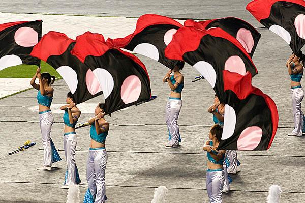 Церемония открытия VIII Всемирных Игр. Город Гаосюн, Тайвань. 16 июля 2009 год