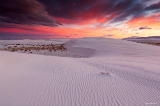 Ранній ранок в заповіднику «Білі піски», штат Нью-Мексико. Фото: Grant Kaye/outdoorphotographer.com