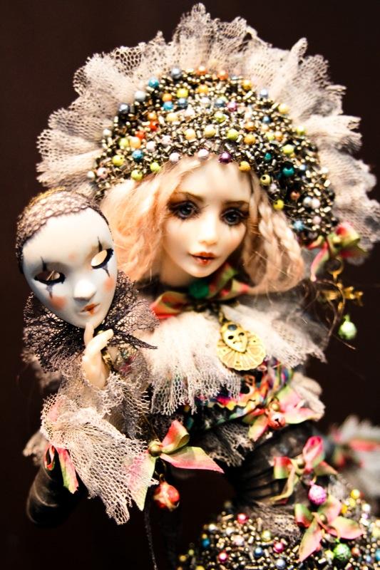 В Киеве проходит выставка кукол и рукоделия. Фото: Великая Эпоха