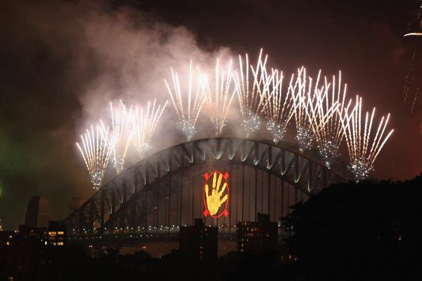 Сідней, Австралія. Австралія знаменита своїми тематичними феєрверками, які запускаються на сіднейському мосту Harbour Bridge. Фото: Cameron Spencer / Getty Images