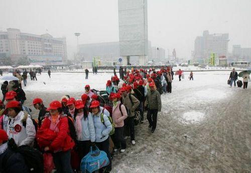 1 февраля. Город Ухань. Фото: China Photos/Getty Images