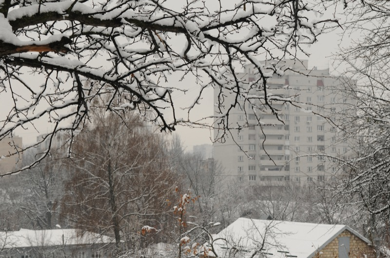 Похолодание на территорию Украины принёс арктический воздух. Фото: Владимир Бородин/The Epoch Times Украина