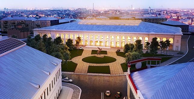 Так буде виглядати Гостинний двір після реконструкції. Фото: kievcity.gov.ua