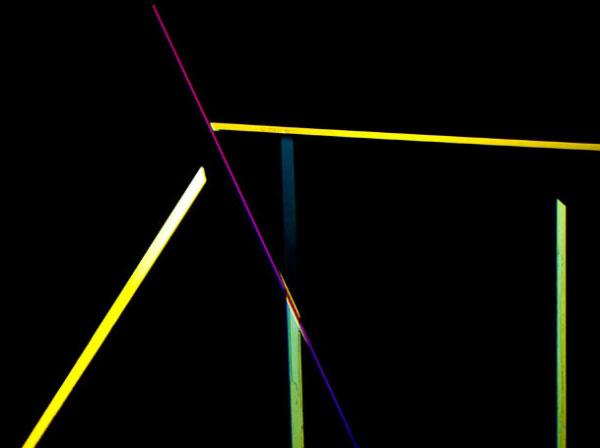 Кристали сахарину натрію (збільшення у 100 разів). Фото зроблено у Салемі, США