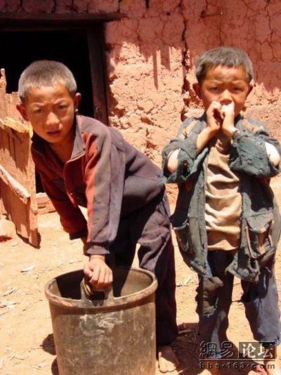 Бедные районы провинции Сычуань. Фото: aboluowang.com