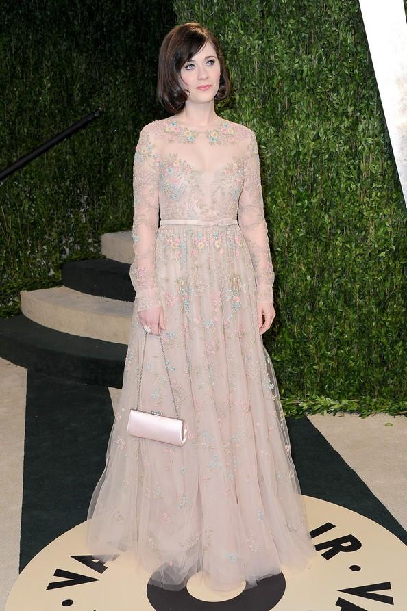 Зоуі Дешанель у сукні від Valentino. Фото: Pascal Le Segretain/Getty Images