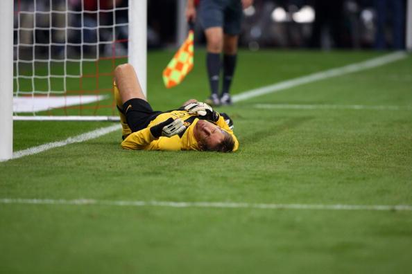 Ван дер Сар Бавария - Манчестер Юнайтед /Getty Images