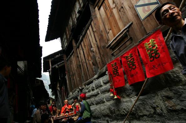 Настенные обериги. Фото: China Photos/Getty Images