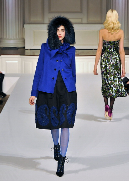 Показ коллекции от Oscar de la Renta на Mercedes-Benz Fashion Week — часть 2. Фото: Slaven Vlasic/Getty Images
