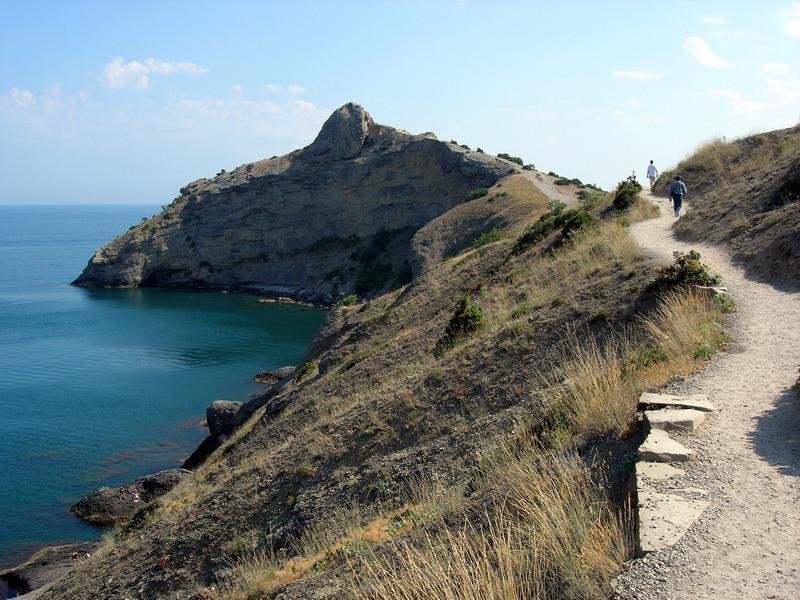Новий світ, Крим, стежка Голіцина від Синьої бухти на вододіл Капчик. Фото: Алла Лавриненко/Велика Епоха