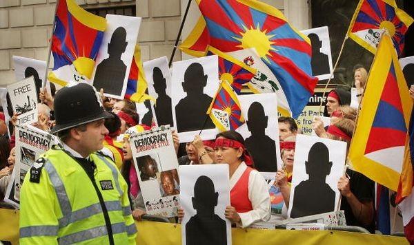 Акция протеста в Англии. 8 августа. Лондон. Фото: GETTY IMAGES