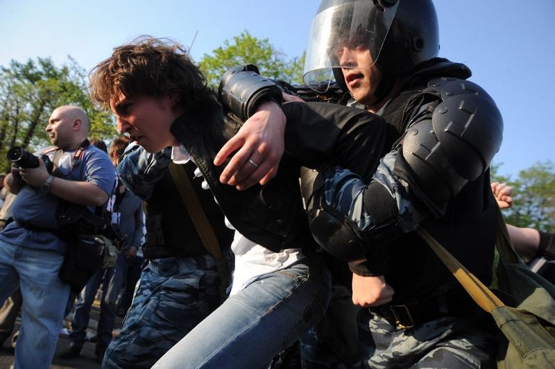 «Марш миллионов» в Москве. Фото: ANDREY SMIRNOV/AFP/GettyImages