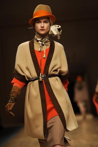 Показ колекції Blugirl на міланському тижні моди осінь/зима 2011-2012. Фото: OLIVIER MORIN/AFP/Getty Images