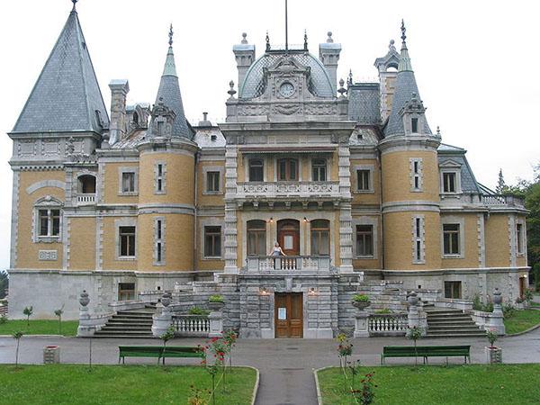 Масандрівський палац. Фото: uakrim.net