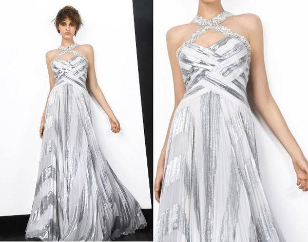 Парадні сукні з м'якими складками 2008. Фото з efu.com.cn