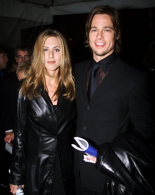 Дженніфер Еністон і Бред Пітт на 42-ій церемонії Греммі в Лос-Анджелесі, 23 лютого 2000 року. Фото: Frank Micelotta/Getty Images