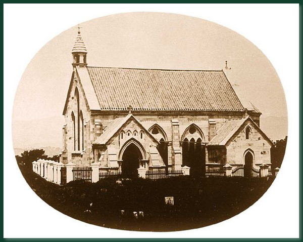 Каменная церковь. Город Фучжоу. 1860 год. Фото: Теодор Джонс