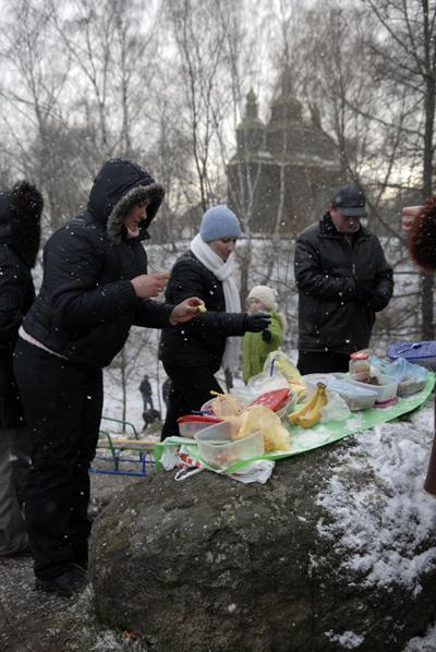 Масленицу отметили в Пирогово. Фото: Владимир Бородин/The Epoch Times Украина