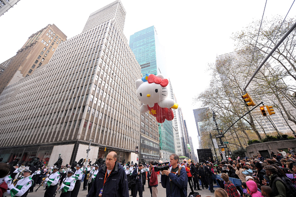 Американцы празднуют день благодарения. Фото: Фото: Michael Loccisano/Getty Images
