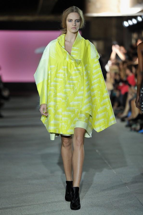 Билл Гэйттен для дома моды John Galliano на Парижской неделе моды. Фото: Pascal Le Segretain/Getty Images