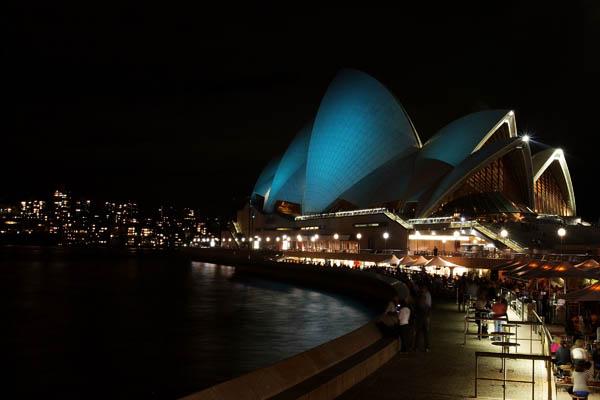 Музичний фестиваль світла в Сіднеї. Фото: Lisa Maree Williams/Getty Images