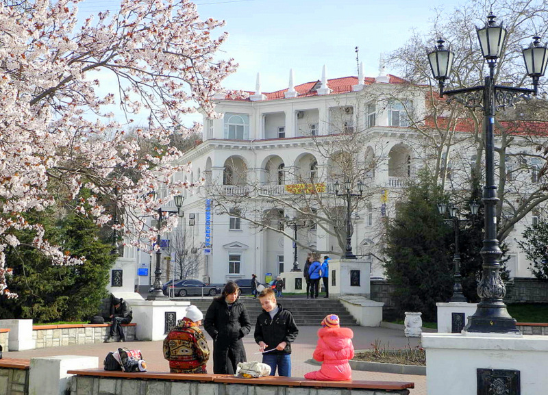 В Севастополе цветут сады. Фото: Алла Лавриненко/Велика Епоха