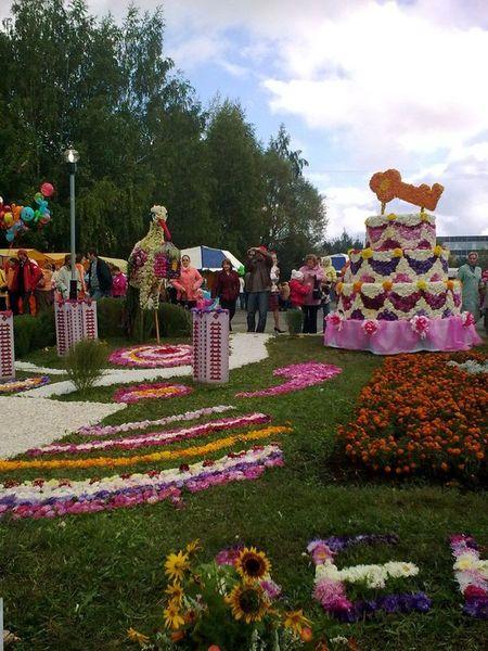 «Праздник цветов»-2009 в Ижевске. Фото: Дмитрий Андреев/Великая Эпоха