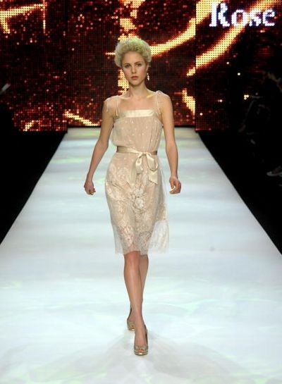 Коллекция от Valerie Tolosa на австралийской неделе моды Rosemount. Фото: Stefan Gosatti/Getty Images