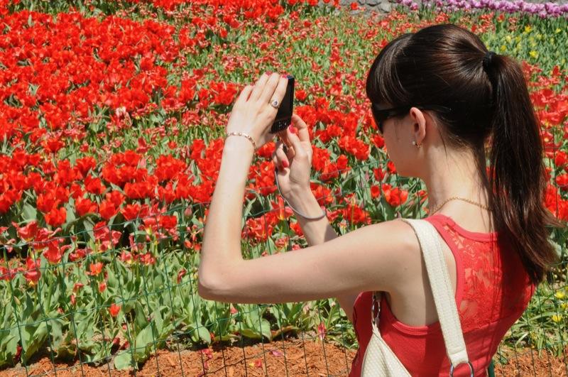 Вторая городская выставка тюльпанов открылась в Киеве 28 апреля 2012 года. Фото: Владимир Бородин / The Epoch Times Украина