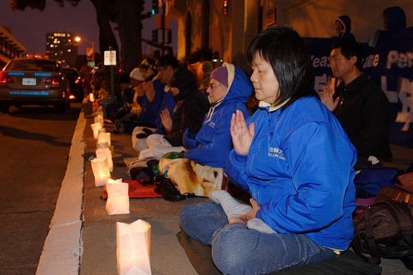 Сан-Франциско (США). Акция против репрессий Фалуньгун в Китае. Фото: The Epoch Times
