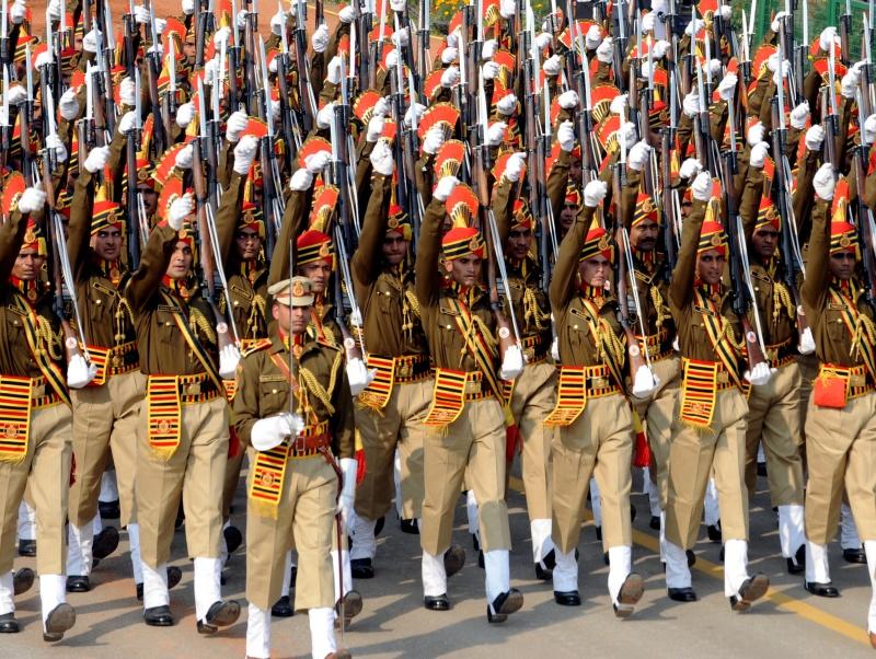Парад на честь Дня Республіки. Нью-Делі, Індія, 26 січня 2012 рік. Фото: RAVEENDRAN/AFP/Getty Images