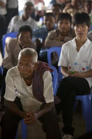 Червоні кхмери. Вирок суду: Кейн Гук Ієу проведе у в'язниці 19 років. Фоторепортаж. Фото: Paula Bronstein / Getty Images