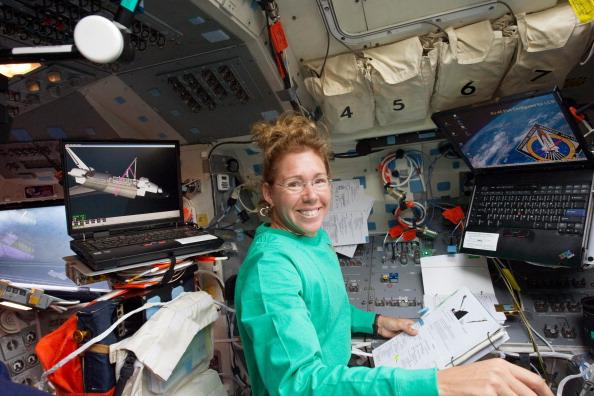Астронавт Сандра Магнус. Фото: NASA via Getty Images