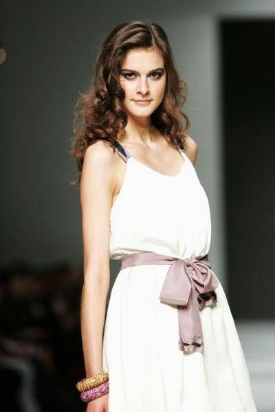 Коллекция одежды от дизайнера Amar, фото:Gaye Gerard/Getty Images