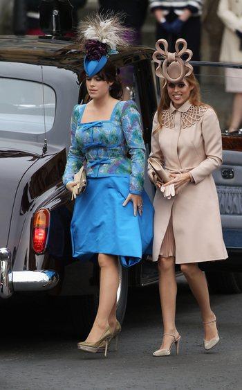 Принцеса Эжени и принцесса Беатрис. Фото: Dan Kitwood/Getty Images