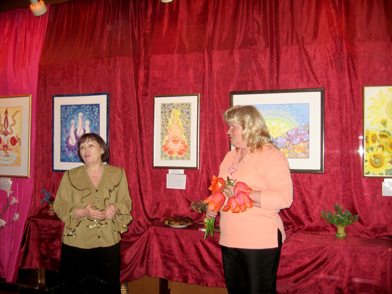 Людмила Кирилова (праворуч). Фото: Мілостнова Росіна/The Epoch Times Україна